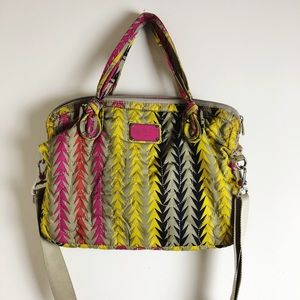 Marc by Marc Jacobs Print Laptop Bag With Strap